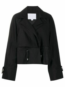 Noon By Noor Leamington cropped jacket - Black