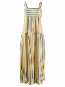 Three Graces Cosette tiered maxi dress - Yellow