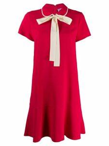 RedValentino bow detail short dress