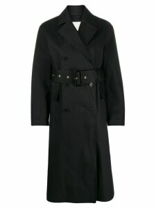 Mackintosh Laurencekirk double-breasted trench coat LR-1012 - Black