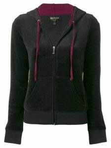 Juicy Couture zip-up hoodie - Black