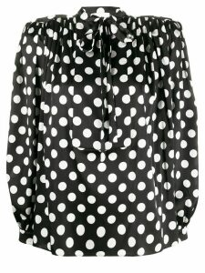 Giuseppe Di Morabito polka dot blouse - Black