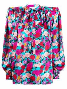 Giuseppe Di Morabito floral blouse - PINK
