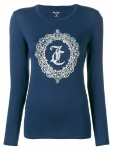 Juicy Couture logo jersey - Blue