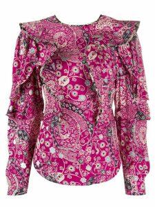 Isabel Marant Étoile Constance blouse - PINK