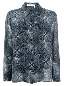 See by Chloé abstract print shirt - Blue