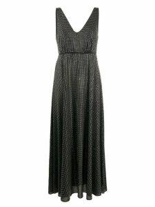 Pinko V-neck plunge dress - Black