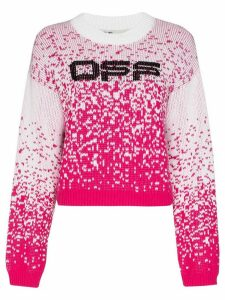 Off-White speckled knitted jumper