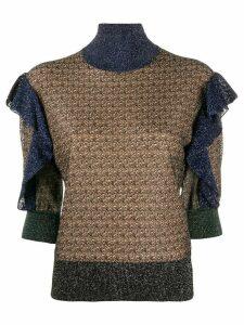Chloé ruffled jumper - NEUTRALS