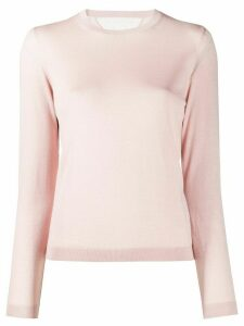 Red Valentino round neck jumper - PINK