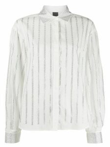 Pinko crystal embellished shirt - White