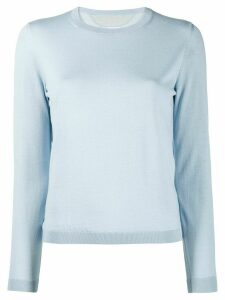 RedValentino round neck jumper - Blue
