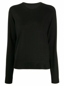 Maison Margiela long-sleeve crew neck T-shirt - Black
