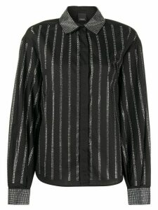 Pinko crystal embellished shirt - Black