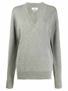 Isabel Marant Étoile Kolly v-neck jumper - Grey