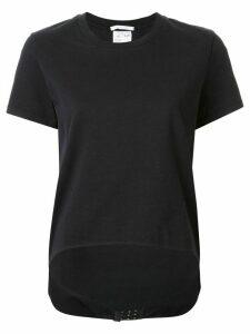 Helmut Lang released hem T-shirt - Black