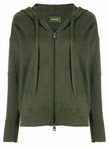 Zadig & Voltaire zip front hoodie - Green