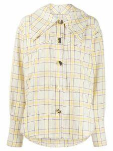 Rejina Pyo novelty button shirt - NEUTRALS