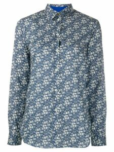 Paul Smith Liberty Floral-print cotton shirt - Blue