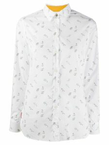 Paul Smith Year Of The Rat-print cotton shirt - White