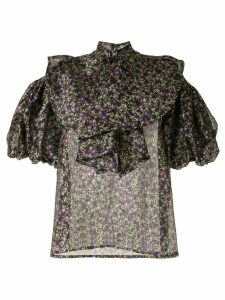 Romance Was Born Dream Factory bow blouse - PURPLE