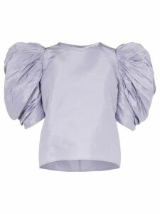 Nackiyé Lolita pouf sleeve top - PURPLE