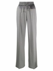 Fabiana Filippi high-waisted wide-leg trousers - Grey