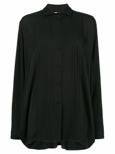 Valentino pleated blouse - Black