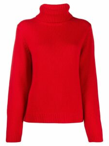 Ba & Sh Lace jumper - Red
