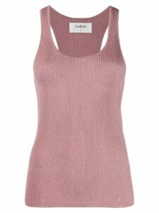 Ba & Sh Zilia ribbed tank top - PINK
