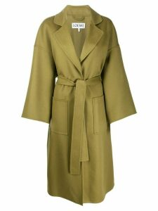 Loewe belted oversized coat - Green
