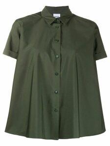 Aspesi Brusa short sleeves shift shirt - Green