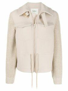 Ba & Sh Camille cardi-coat - NEUTRALS