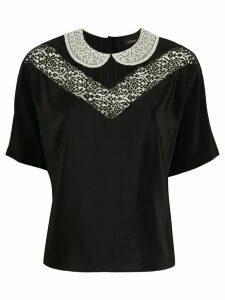 Marc Jacobs The Lace blouse - Black