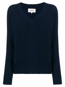 Ba & Sh Classe v-neck jumper - Blue