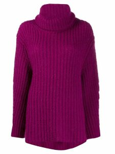Ba & Sh Emera roll-neck jumper - PINK