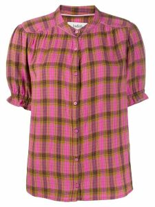 Ba & Sh Cabel checked shirt - PINK