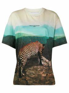 Stella McCartney all-over photographic print T-shirt - Green