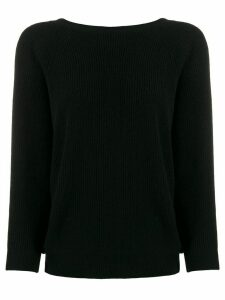 Ba & Sh Cramy knot detail jumper - Black