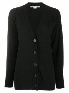 Stella McCartney side logo cardigan - Black