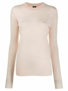 Joseph cashmere long-sleeve jumper - PINK