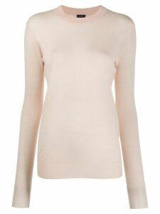 Joseph cashmere long-sleeve jumper - PINK