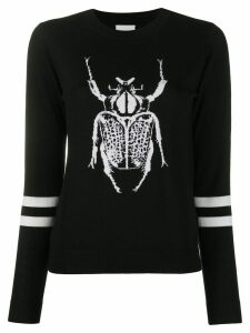 Paul Smith scarab intarsia jumper - Black