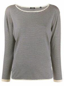 Aspesi knitted striped top - Blue