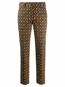 Paul Smith straight leg beetle print trousers - Black