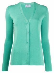 Prada button up cardigan - Green