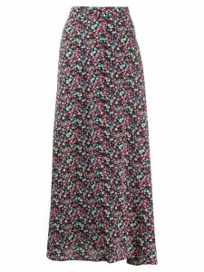 Essentiel Antwerp floral print maxi skirt - Black