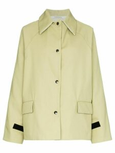 Kassl Editions button-up long-sleeve jacket - Green