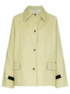 Kassl Editions button-up long-sleeve jacket - Green