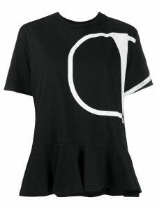 Valentino oversized VLOGO print t-shirt - Black